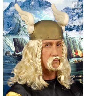 Pruik, Viking Met Snor