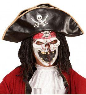 Spookschip Piraat Kindermasker Horror Bucanneer