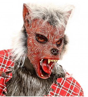 Sprookjes Masker Weerwolf Met Haar