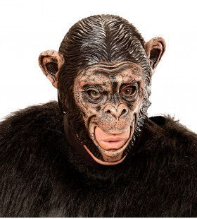 Masker Chimpansee Met Open Mond Planet Of The Apes