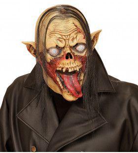 Masker Vampier Met Haar Lange Tong