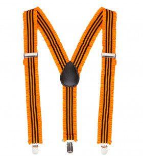 Raderboot Bretels Oranje Met Plooien