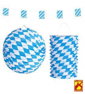 Feestelijke Beierse Decoratie Set