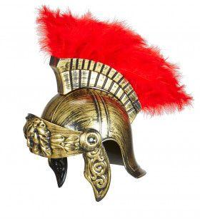 Centurion Ouderwetse Romeinse Helm, Goud