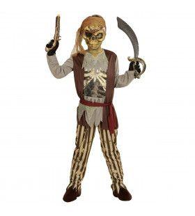 Spookschip Piraat Pira-Zombie Jongen Kostuum