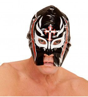 Amerikaanse Wwf Masker Worstelaar, Zwart