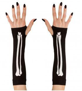Bijpassende Vingerloze Handschoen Botten