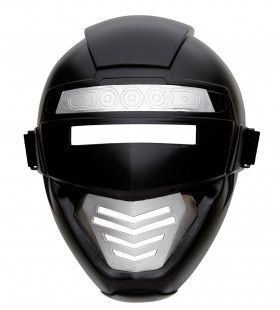 Power Ranger Robotmasker Kind, Zwart