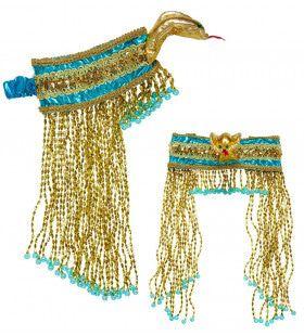 Cleopatra Bepareld Egyptisch Hoofdstuk