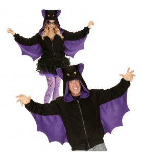 Grappige Hoodie, Vleermuis Kostuum