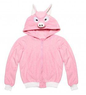 Cute Hoodie, Varken Kostuum