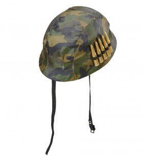 2e Wereldoorlog Soldatenhelm Met Kogels