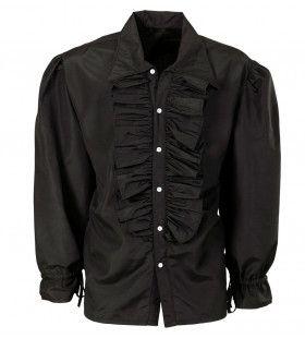 Roucheshemd Chico Shirt Zwart
