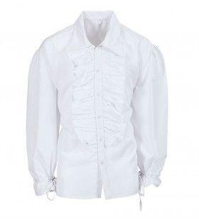 Roucheshemd Chico Shirt Wit