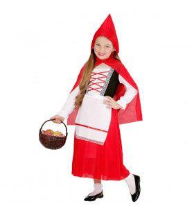 Roodkapje Kind Uit Een Sprookje Meisje Kostuum