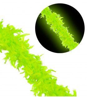 New York City Boa 180cm, Neon Groen