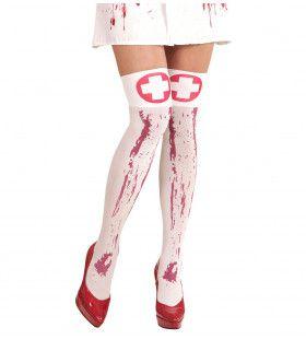 Brenda Kniekousen Met Bloed Verpleegster