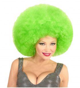 Soul Diva Pruik, Afro Extra Groot Groen