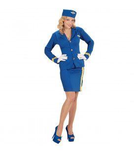 Koninklijke Stewardess Vrouw Kostuum