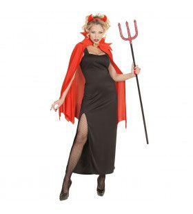 Markiezin Duivelse Dame Vrouw Kostuum