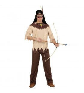 Krijger Indiaan Man Kostuum