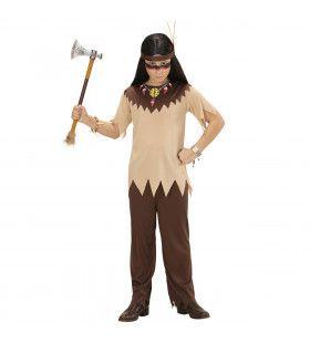 Krijger Indiaan Jongen Kostuum