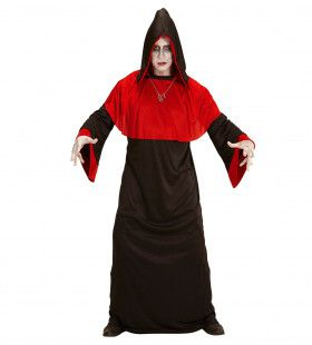 Rode Demoon Doomsday Man Kostuum