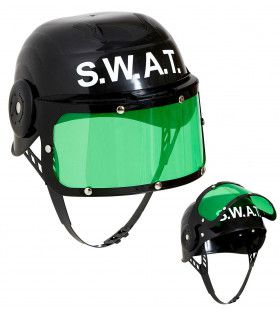 Overval Plastic Swat Helm