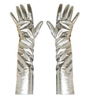 Futura Metalic Handschoenen Zilver