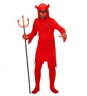 Rode Duivel Kind Kostuum