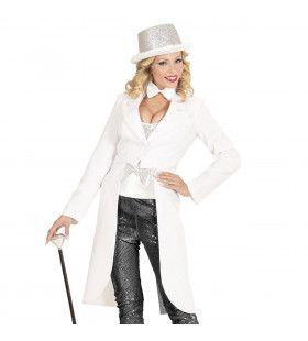 Showlady Witte Frackjas Vrouw