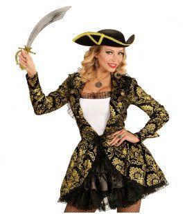 Piraten Kapitein Royale Vrouw Kostuum
