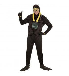 Diepzee Duiker Man Kostuum