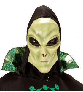 Glubablub Alien Masker Met Kap En Bolle Ogen