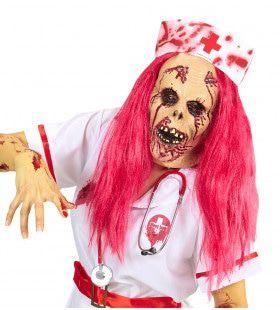 Bloederig Masker Zombie Verpleegster