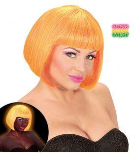 Bob Pruik, Valentina Neon Oranje / Geel Mix