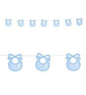 Jongen Slinger Baby Speen Blauw