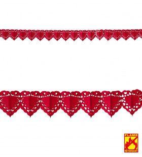 Valentijn Slinger Rood Hart 4 Meter