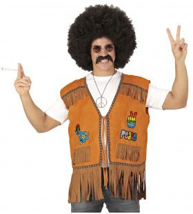 Hippie Vest Ranchero Man