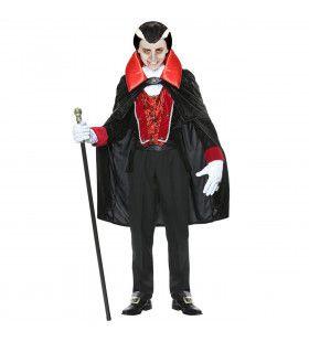 Victoriaanse Vampier Victor Jongen Kostuum