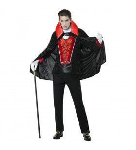 Victoriaanse Vampier Gracio Man Kostuum