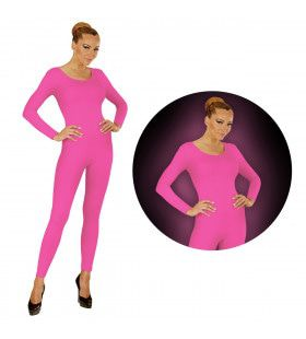 Neon Rose Bodysuit Glow Vrouw Kostuum