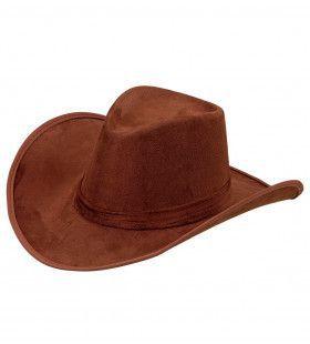 Cowboyhoed Maik Suede Bruin