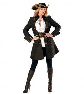 Luxe Jas Vrouw Zeeschuimer Kostuum