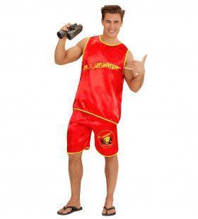 Boobs Watch Strandwacht Man Kostuum