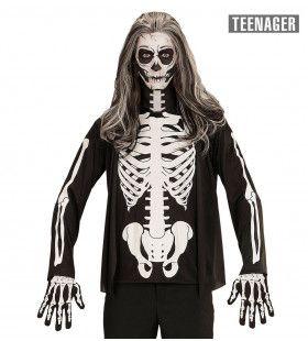 Skelet Andrea Tiener Shirt Jongen