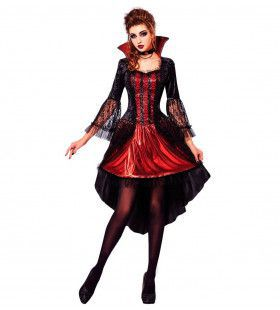 Vampier Vastate Dame Vrouw Kostuum