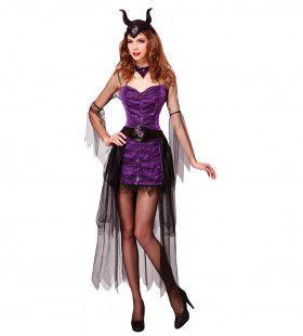 Malefizia Heksia Vrouw Kostuum