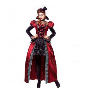 Victoriaanse Vrouwelijke Vampier Alcala Kostuum