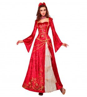 Renaissance Prinses Radabella Vrouw Kostuum